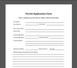 Permit Application Image